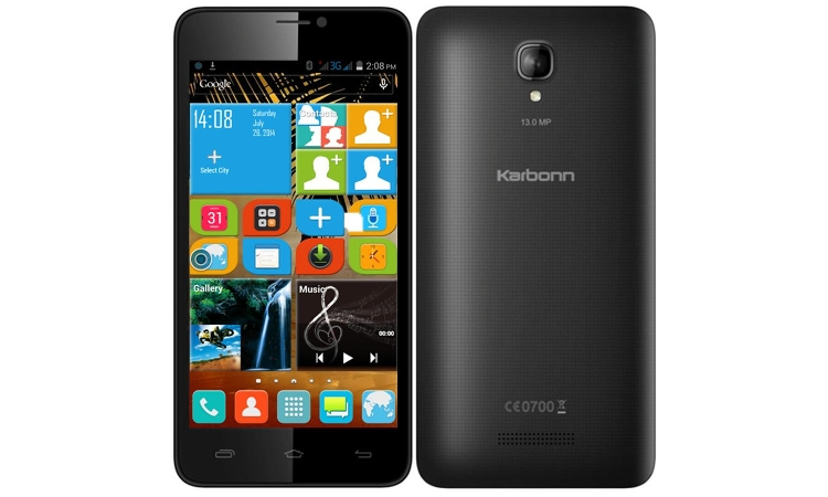 Karbonn redefines the 'Art of Selfie' with the launch of Titanium S19