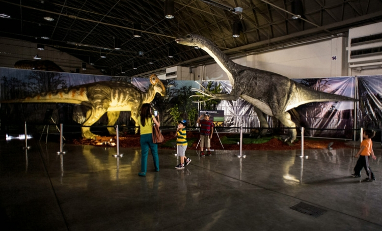 Family-friendly Jurassic Quest takes place at Richland County Fairgrounds