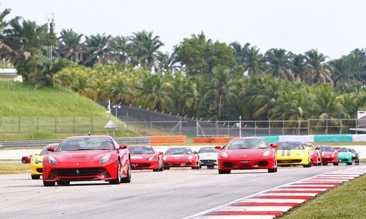 Ferrari Southeast Asia Grand Tour 2015