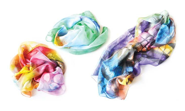 Alzoli presents new Spring 2015 Collection Alzoli made - Silk Scarves