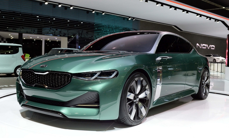 Seoul world premiere for fastback Kia Novo concept car